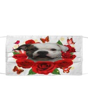 American Bulldog-Face Mask-Rose Cloth face mask front