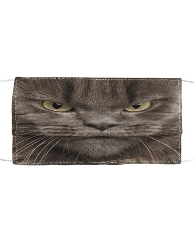 Maine Coon Cat-Face Mask