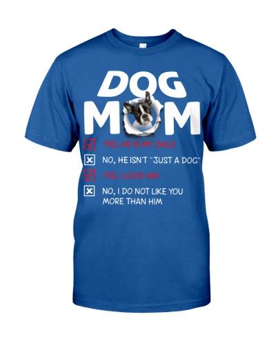 Boston Terrier-Dog Mom