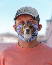 Beagle-Blue Mask Cloth face mask aos-face-mask-lifestyle-06