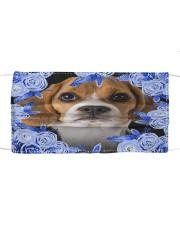 Beagle-Blue Mask Cloth face mask front