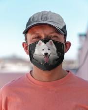 American Eskimo-02-Hole Crack Cloth face mask aos-face-mask-lifestyle-06