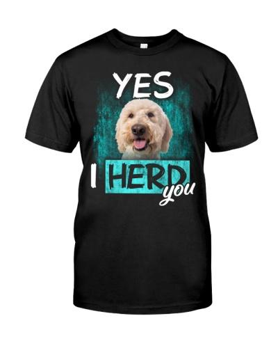 Goldendoodle-I Herd You