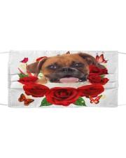 Boxer-Face Mask-Rose Cloth face mask front