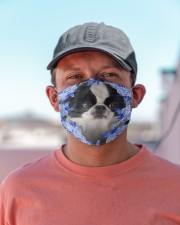 Japanese Chin-Blue Mask Cloth face mask aos-face-mask-lifestyle-06