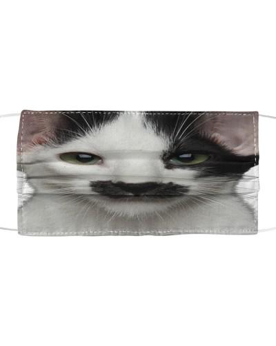 Oriental Shorthair Cat-Face Mask