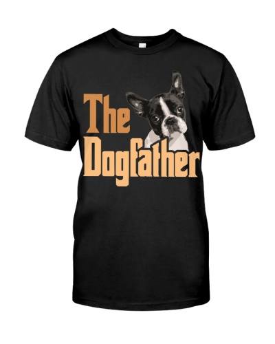 Boston Terrier-The Dogfather