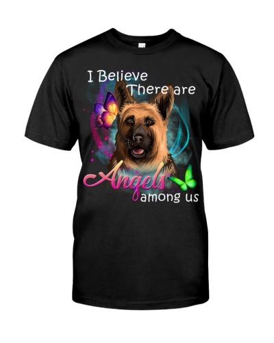 German Shepherd-Art-Angels Among Us