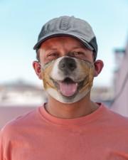 Australian Shepherd-Mask Mouth Cloth face mask aos-face-mask-lifestyle-06