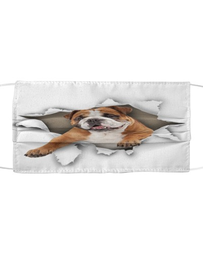 English Bulldog-03-Face Mask-Torn02