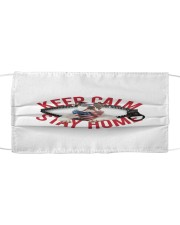 American Bulldog-US-Keep Calm Cloth face mask front