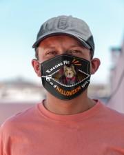 Shetland Sheepdog-Excuse-Mask Cloth face mask aos-face-mask-lifestyle-06