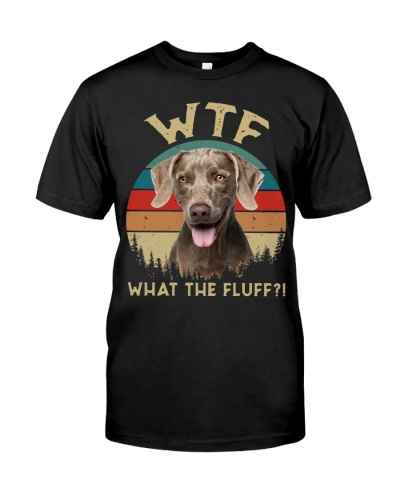Weimaraner-What The Fluff