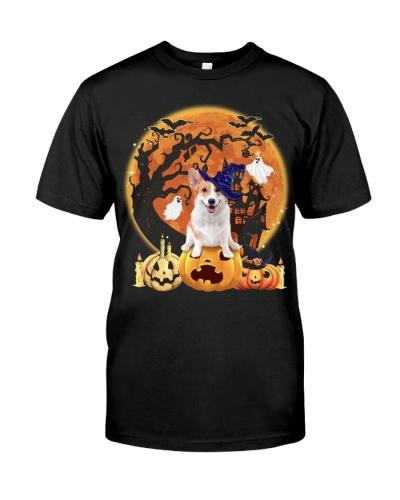 Welsh Corgi-Halloween
