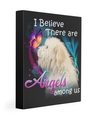 Tibetan Terrier-Canvas Angels