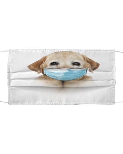 Labrador-Yellow-Face Mask-Mask