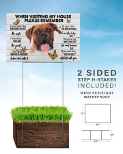 Boxer-Please 18x12 Yard Sign aos-yard-sign-18x12-lifestyle-front-26