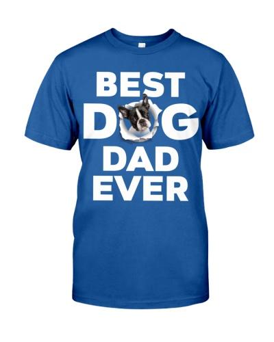 Boston Terrier-Best Dog Dad Ever