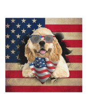 American Cocker Spaniel-US Mask Cloth face mask aos-face-mask-coverlet-lifestyle-front-02