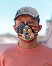 American Cocker Spaniel-US Mask Cloth face mask aos-face-mask-lifestyle-06