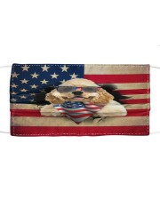 American Cocker Spaniel-US Mask Cloth face mask front