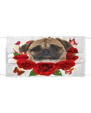Bullmastiff-Face Mask-Rose Cloth face mask front
