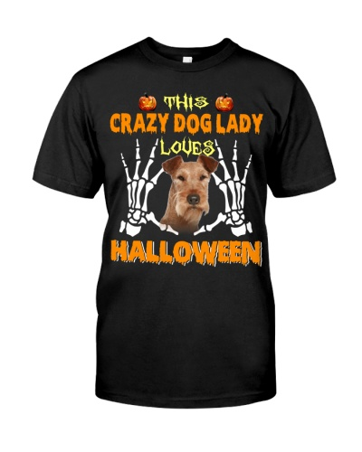 Irish Terrier-Loves Halloween