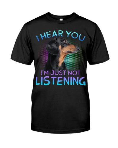 Dachshund-I Hear You 02