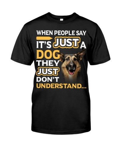 German Shepherd-They Don't Understand