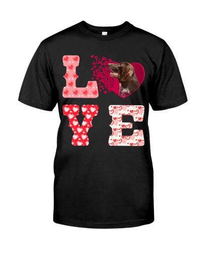 German Shorthaired Pointer-Love-Valentine