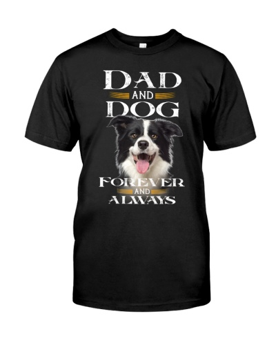 Border Collie-Dad And Dog