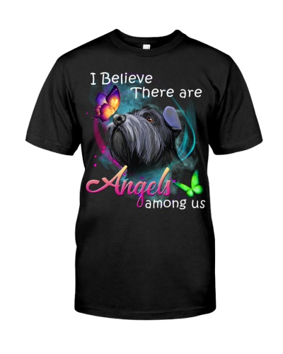Schnauzer-Art-Angels Among Us