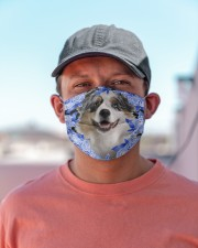 Australian Shepherd-02-Blue Mask Cloth face mask aos-face-mask-lifestyle-06