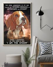 Beagle - Storm 24x36 Poster lifestyle-poster-1