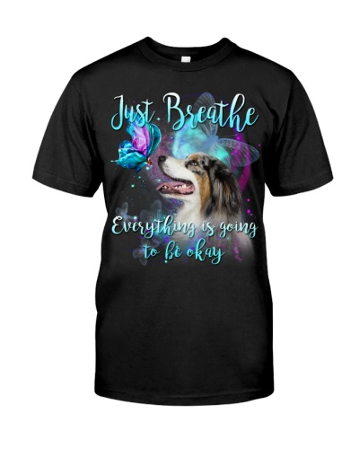 Australian Shepherd-Just Breathe