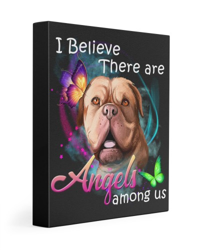 Dogue De Bordeaux-Art-Canvas Angels