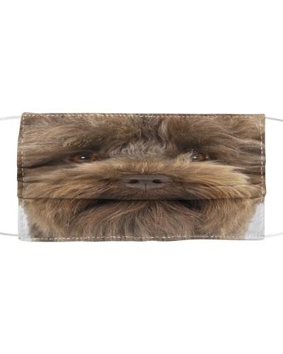 Australian Labradoodle-Face Mask