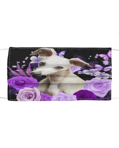 Whippet-Face Mask-Purple
