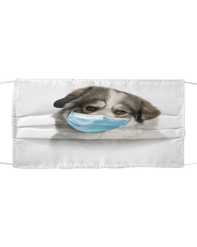 Great Pyrenees-Face Mask-Mask