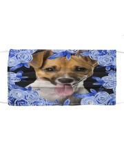 Jack Russell Terrier-Blue Mask Cloth face mask front
