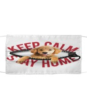 Golden Retriever-Mask-Stay Home Cloth face mask front