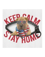 Shar Pei-US-Keep Calm Cloth face mask aos-face-mask-coverlet-lifestyle-front-02
