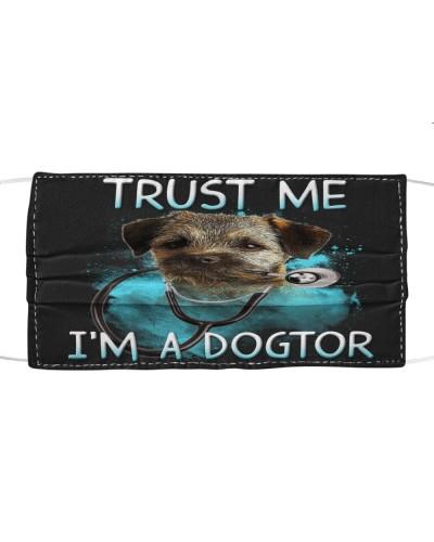 Border Terrier-Face Mask-Dogtor