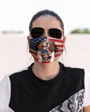 Basset Hound-US Mask Cloth face mask aos-face-mask-lifestyle-02