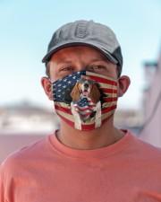 Basset Hound-US Mask Cloth face mask aos-face-mask-lifestyle-06