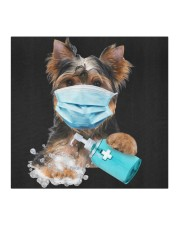 Yorkshire Terrier-Face Mask-Wash Cloth face mask aos-face-mask-coverlet-lifestyle-front-02