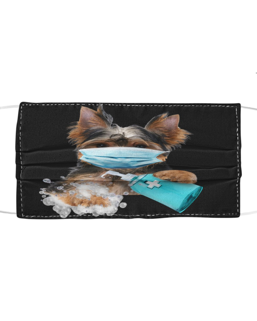 Yorkshire Terrier-Face Mask-Wash Cloth face mask