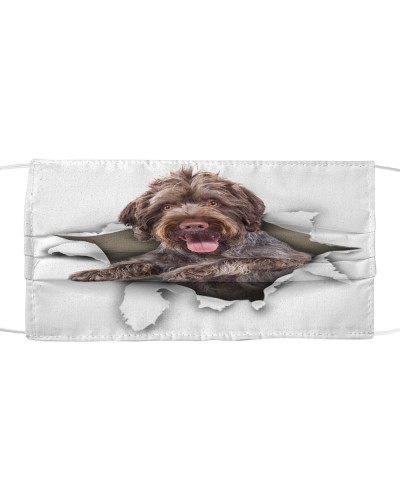 German Wirehaired Pointer-Face Mask-Torn02