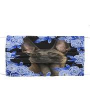 Belgian Shepherd-Blue Mask Cloth face mask front