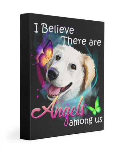 Labrador Husky-Art-Canvas Angels